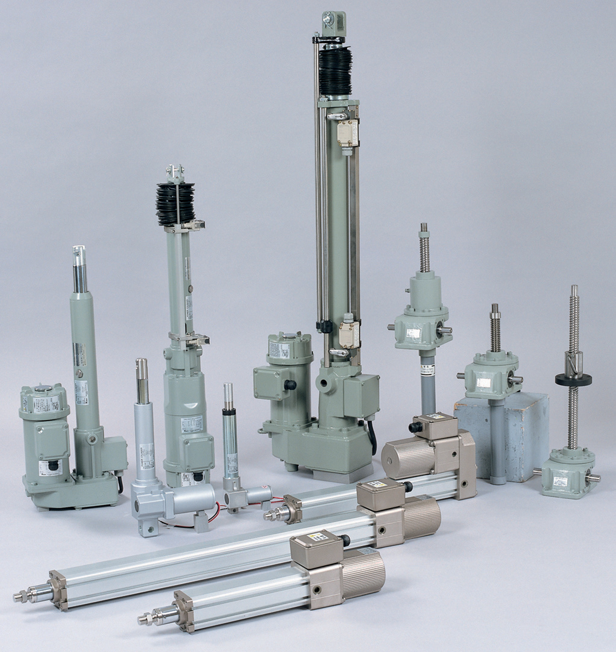 Quality drive components ensure long term reliability in
