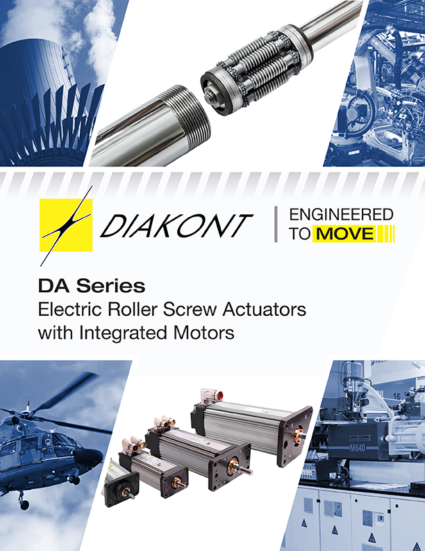 Diakont DA Series actuators