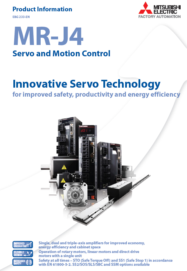 Next Generation Servo Drives From Mitsubishi Electric Boost Performance Save Energy And
