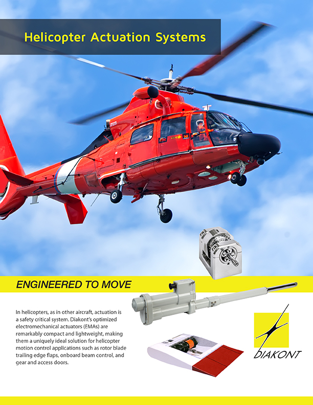 Diakont Helicopter Actuators