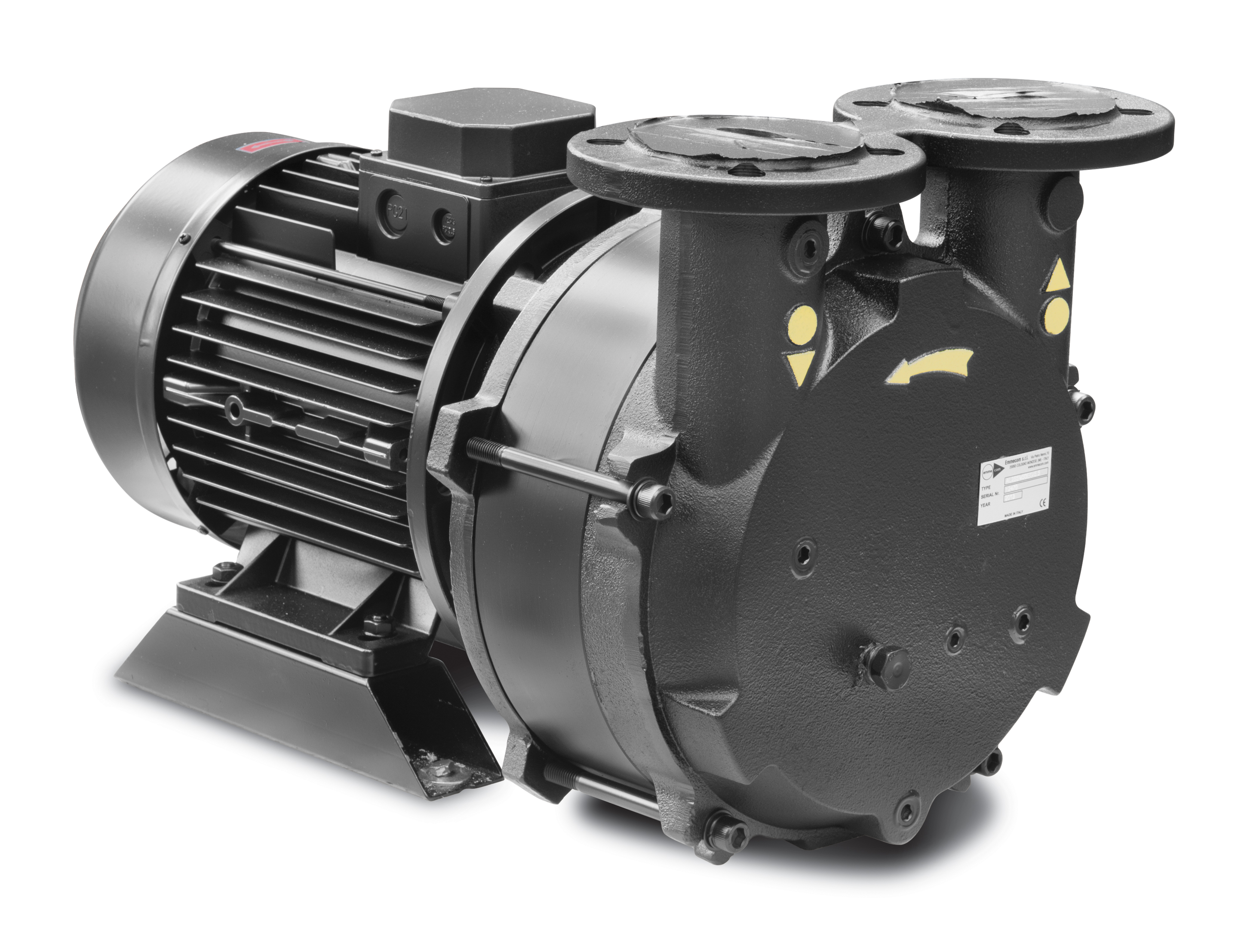 the liquid ring pump Description the liquid ring vacuum pump model al50m is single stage type fitted with vary port valve, in monoblok version compact, flexible in performance, achieves 33 mbar abs, suitable to suck vapors and gas with liquid carry over, oil free operation, limited maintenance required.