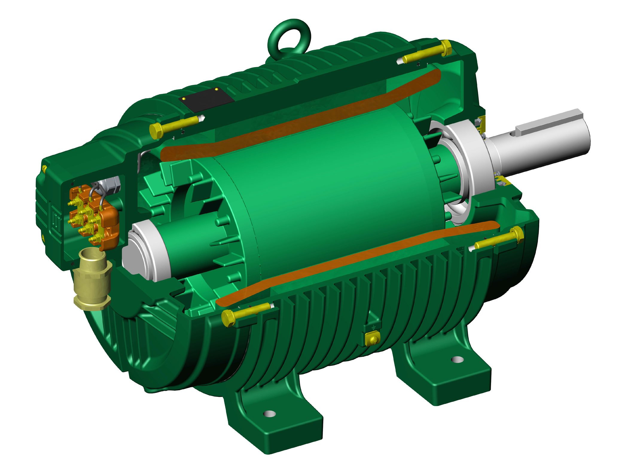 Weg Roller Table Motors Cut Production Stoppages Improve