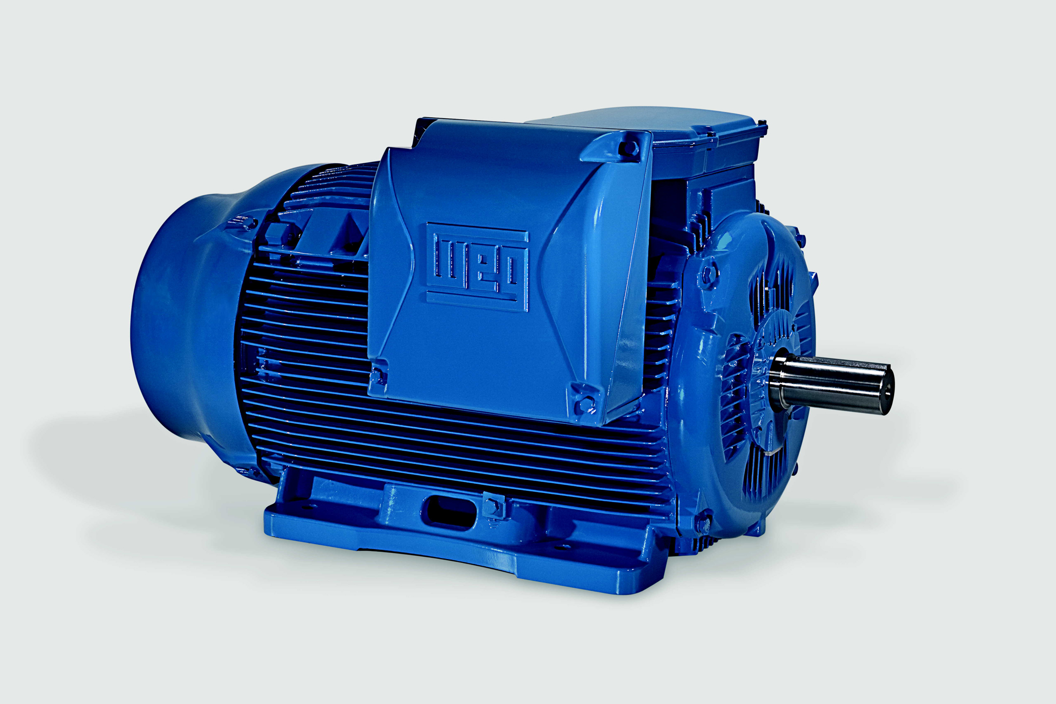 Weg w22 high efficiency motors chosen for driving pumps High efficiency motors